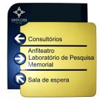 Sinalização interna Curitiba