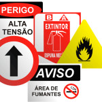 Placa de sinalização interna Curitiba